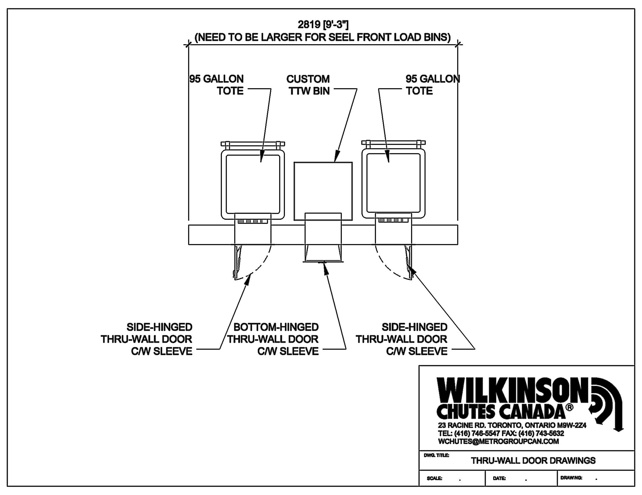 Service Amp Support Wilkinson Chutes Canada